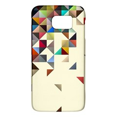 Retro Pattern Of Geometric Shapes Galaxy S6