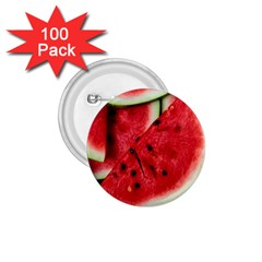 Fresh Watermelon Slices Texture 1 75  Buttons (100 Pack)