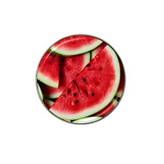 Fresh Watermelon Slices Texture Hat Clip Ball Marker (10 Pack)