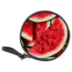 Fresh Watermelon Slices Texture Classic 20 Cd Wallets