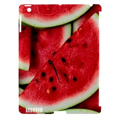 Fresh Watermelon Slices Texture Apple Ipad 3/4 Hardshell Case (compatible With Smart Cover)