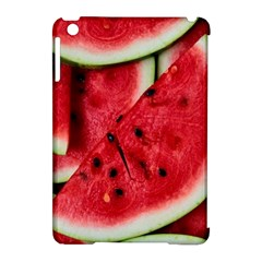Fresh Watermelon Slices Texture Apple Ipad Mini Hardshell Case (compatible With Smart Cover)