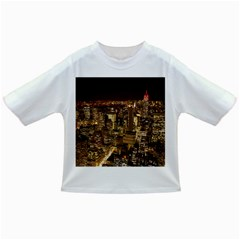 New York City At Night Future City Night Infant/toddler T Shirts