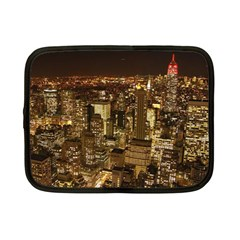 New York City At Night Future City Night Netbook Case (small)