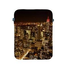 New York City At Night Future City Night Apple Ipad 2/3/4 Protective Soft Cases