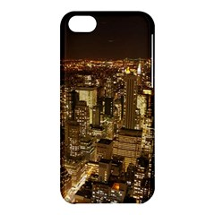 New York City At Night Future City Night Apple Iphone 5c Hardshell Case