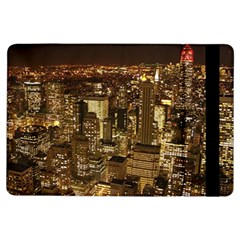 New York City At Night Future City Night Ipad Air Flip