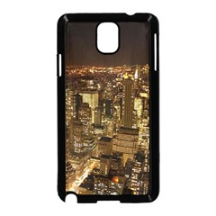New York City At Night Future City Night Samsung Galaxy Note 3 Neo Hardshell Case (black)