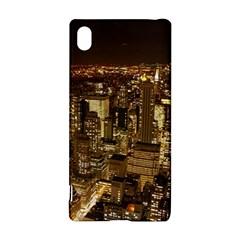 New York City At Night Future City Night Sony Xperia Z3+