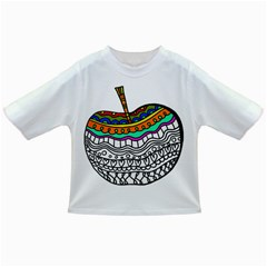 Abstract Apple Art Colorful Infant/toddler T Shirts