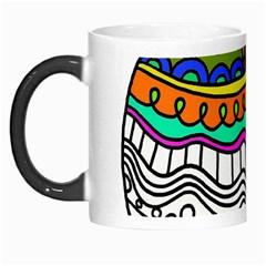Abstract Apple Art Colorful Morph Mugs