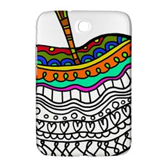 Abstract Apple Art Colorful Samsung Galaxy Note 8 0 N5100 Hardshell Case