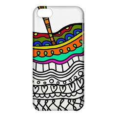 Abstract Apple Art Colorful Apple Iphone 5c Hardshell Case