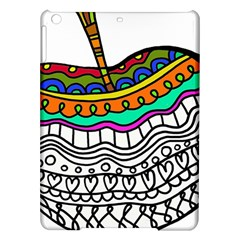 Abstract Apple Art Colorful Ipad Air Hardshell Cases