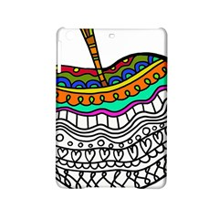 Abstract Apple Art Colorful Ipad Mini 2 Hardshell Cases