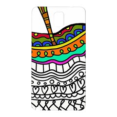 Abstract Apple Art Colorful Samsung Galaxy Note 3 N9005 Hardshell Back Case
