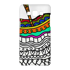 Abstract Apple Art Colorful Samsung Galaxy A5 Hardshell Case