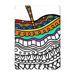 Abstract Apple Art Colorful Apple Ipad Pro 10 5   Hardshell Case