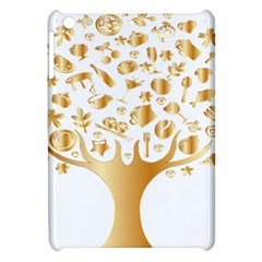 Abstract Book Floral Food Icons Apple Ipad Mini Hardshell Case