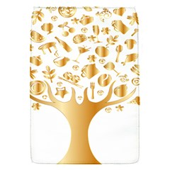 Abstract Book Floral Food Icons Flap Covers (s)