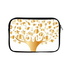 Abstract Book Floral Food Icons Apple Ipad Mini Zipper Cases