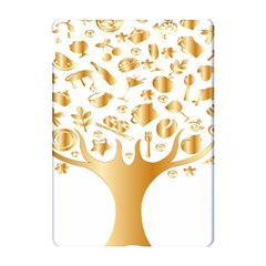 Abstract Book Floral Food Icons Apple Ipad Pro 10 5   Hardshell Case