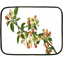 Apple Branch Deciduous Fruit Double Sided Fleece Blanket (mini)
