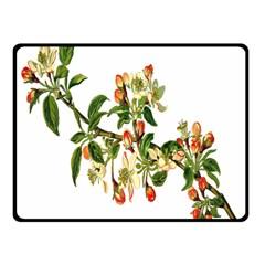 Apple Branch Deciduous Fruit Fleece Blanket (small)