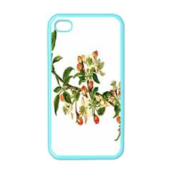 Apple Branch Deciduous Fruit Apple Iphone 4 Case (color)