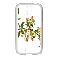 Apple Branch Deciduous Fruit Samsung Galaxy S4 I9500/ I9505 Case (white)