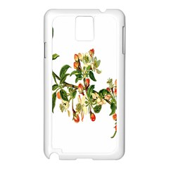 Apple Branch Deciduous Fruit Samsung Galaxy Note 3 N9005 Case (white)