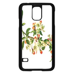 Apple Branch Deciduous Fruit Samsung Galaxy S5 Case (black)
