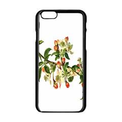 Apple Branch Deciduous Fruit Apple Iphone 6/6s Black Enamel Case