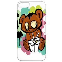 Bear Cute Baby Cartoon Chinese Apple Iphone 5 Classic Hardshell Case