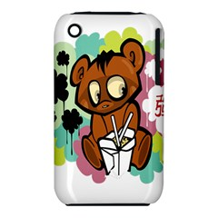 Bear Cute Baby Cartoon Chinese Iphone 3s/3gs