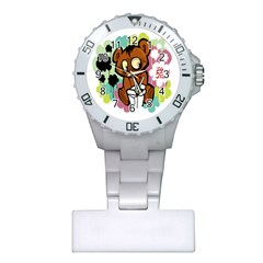 Bear Cute Baby Cartoon Chinese Plastic Nurses Watch