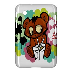 Bear Cute Baby Cartoon Chinese Samsung Galaxy Tab 2 (7 ) P3100 Hardshell Case