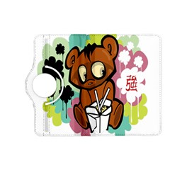 Bear Cute Baby Cartoon Chinese Kindle Fire Hd (2013) Flip 360 Case