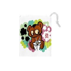 Bear Cute Baby Cartoon Chinese Drawstring Pouches (small)