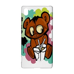 Bear Cute Baby Cartoon Chinese Sony Xperia Z3+
