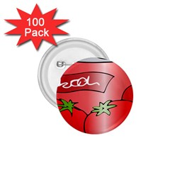 Beverage Can Drink Juice Tomato 1 75  Buttons (100 Pack)
