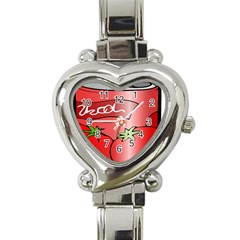 Beverage Can Drink Juice Tomato Heart Italian Charm Watch