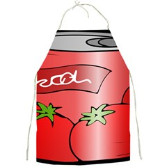 Beverage Can Drink Juice Tomato Full Print Aprons