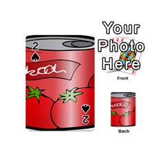Beverage Can Drink Juice Tomato Playing Cards 54 (mini)