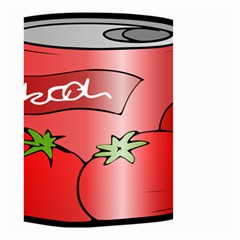 Beverage Can Drink Juice Tomato Small Garden Flag (two Sides)