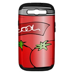 Beverage Can Drink Juice Tomato Samsung Galaxy S Iii Hardshell Case (pc+silicone)