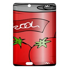 Beverage Can Drink Juice Tomato Amazon Kindle Fire Hd (2013) Hardshell Case