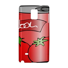 Beverage Can Drink Juice Tomato Samsung Galaxy Note 4 Hardshell Case