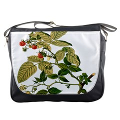Berries Berry Food Fruit Herbal Messenger Bags