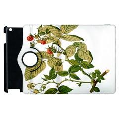 Berries Berry Food Fruit Herbal Apple Ipad 3/4 Flip 360 Case